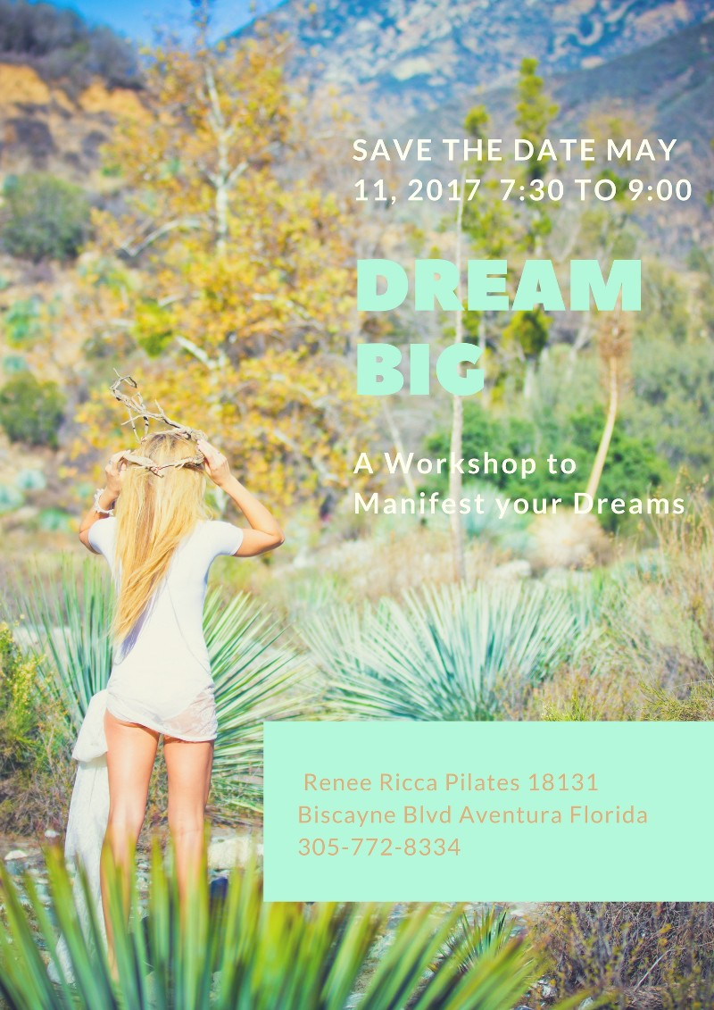 Dream Big WORKSHOP